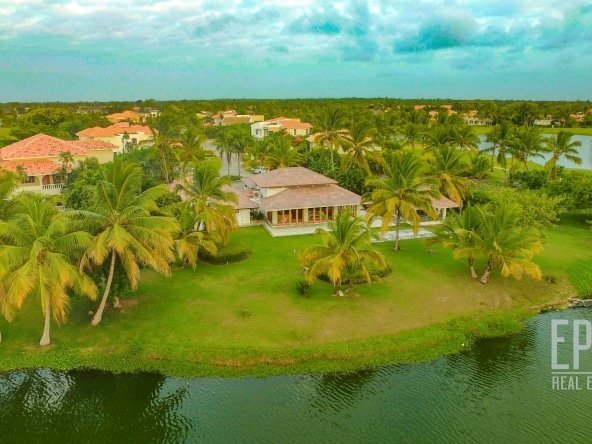 Villa for sale palma real villas cocotal bavaro punta cana real estate property for sale